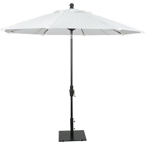 9' Aluminum Fiberglass Umbrella Rotation W/Auto Tilt