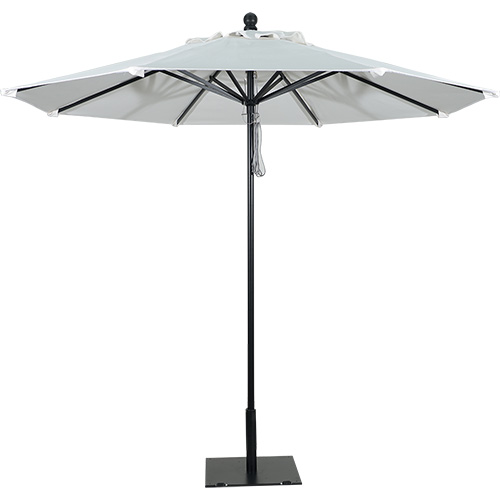 9' Aluminum Market Umbrella Black Frame